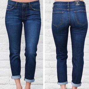 Just black high rise slim boy fit dark jeans 26